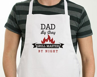 Personalized Grill Master Apron, for grill, bbq, men, him, dad gifts, father's day gift, gift for him, outdoor, summer -gfy8103627X