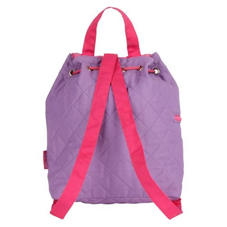 backpack school Quilted Unicorn Embroidered Backpack girls back to school toddlers -gfyE000261 bag personalized kids backpack