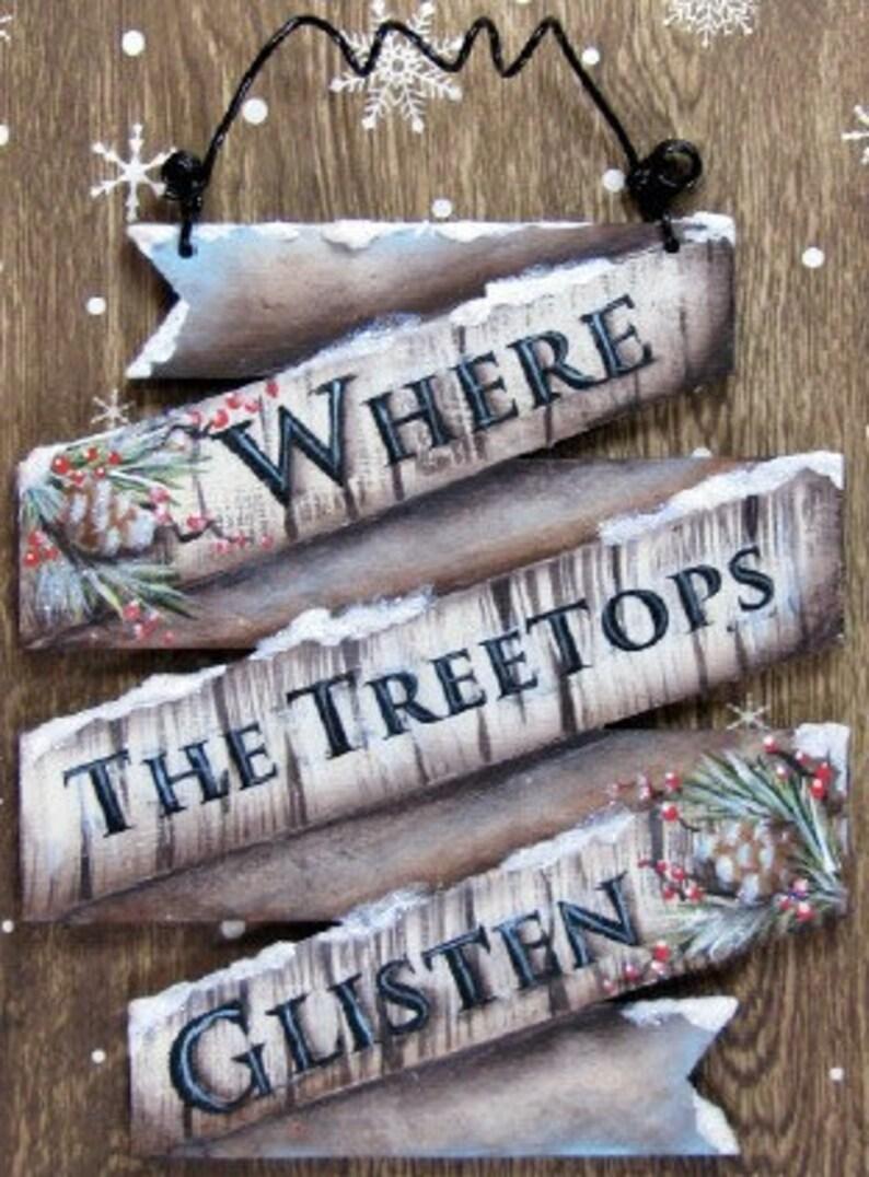 Treetops Glisten Ornament E-Pattern