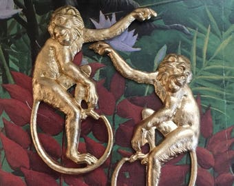 Restrikes of Victorian Era Monkeys  (1 pair)