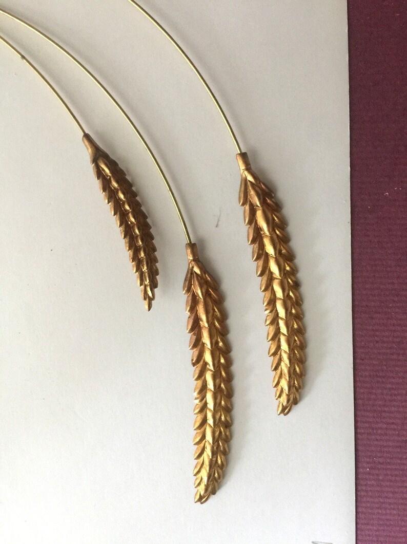 Wheat Grain on a Wire 2 pc