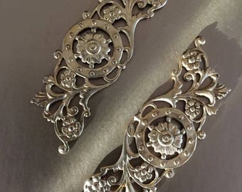Ornate Brass Border  (2 pc)