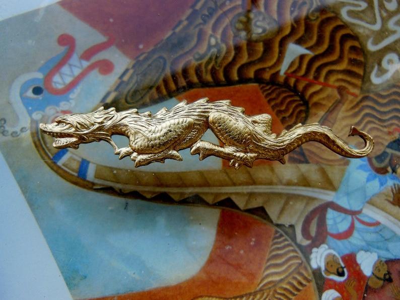 Serpentine Chinese Dragon (1 pc)