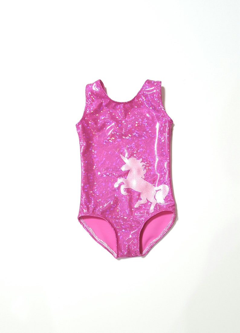 91030a63d00b Unicorn Leotard Girls Leotard Gymnastics Leotard