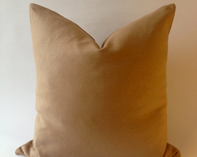 Linen Decorative Throw Pillow Cover -European Linen -Invisible Zipper Closure- Cushion Cover