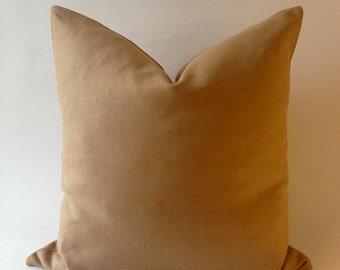 Linen Decorative Throw Pillow Cover -European Linen -Invisible Zipper Closure- Cushion Cover