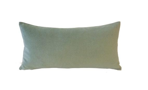 Seafoam Green Decorative Bolster Pillow Cover 40x40 TO 40x40 Etsy Fascinating Seafoam Green Decorative Pillows