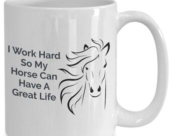 Horse Life Mug
