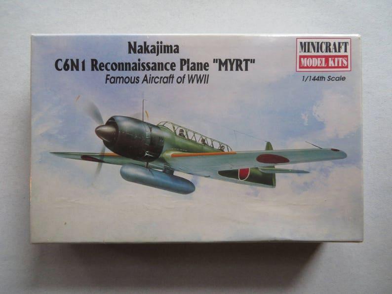 Model Kit Reconnaissance Plane WWII 'MYRT' 1997 Minecraft - New Factory  Sealed