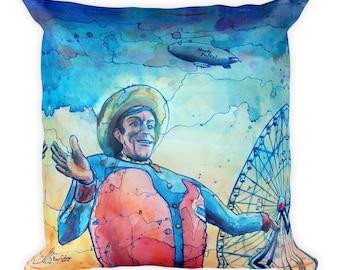 Big Tex by Dan Colcer - Art Pillow