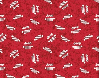 By 1//2 Yard ~ Enchanted Damask in Red ~ Free Spirit Jane Sassaman Cotton Fabric