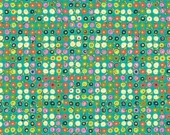 By 1//2 Yard Free Spirit Amy Butler Cotton Fabric Alchemy Victoriana Port Flowers