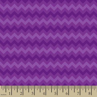 82dd2c3e6ae24 06300 - Springs Creative Products Quilting Basics tonal chevron in purple -  1/2 yard