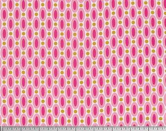 54074 - Joel Dewberry True Colors Abacus in Pink color - 1/2 yard