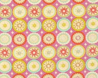 25000 Dena Designs Kumari Garden Collection Lalit  in pink  - 1/2 yard