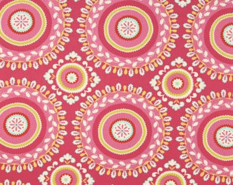 25007 Dena Designs Kumari Garden Jeevan in pink - 1/2 yard