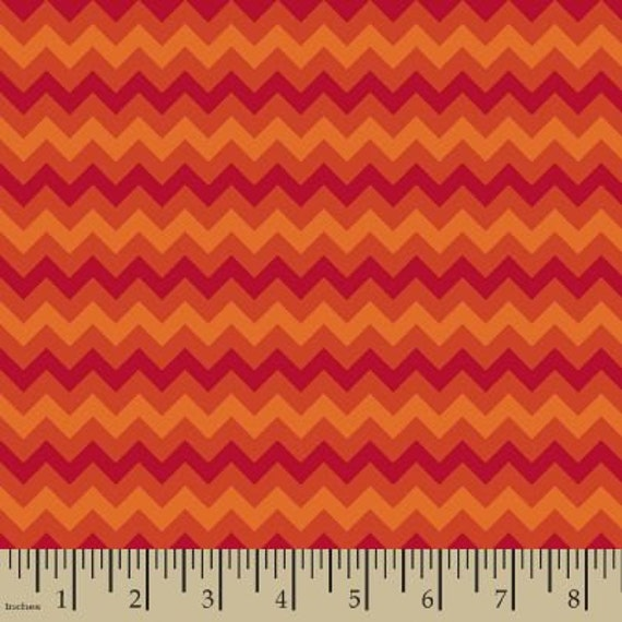 24af8eed43c3f 06320 - Springs Creative Products Quilting Basics Tonal Chevron in Flame -  1/2 yard
