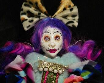 art doll, ooak doll, handmade, trend, unique, best friend,