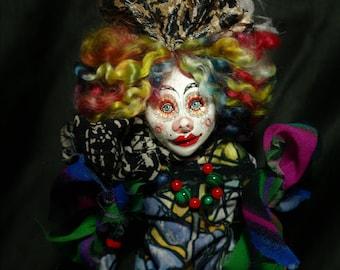 art doll, handmade, ooak