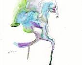 Equine Nude 54 - Ballpoin...