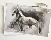Trot Horse Print Art Work...