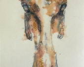 Horse Head Painting, Orig...