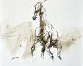 Equine Art, Animal, Moder...