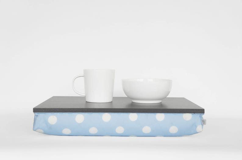 Slow Sunday breakfast in bed serving tray laptop stand image 0
