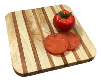 Perfect size Cherry and Maple cutting board