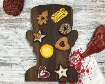 Halloween Frankenstein Ghoulishly Fun and Useful  Cutting/Serving and Cheese Board