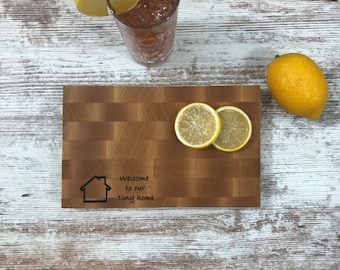 Tiny home Maple Butcher Block cutting board