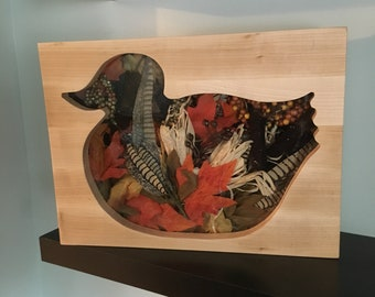 Duck Shadow box, Maple construction Endless design possibilities