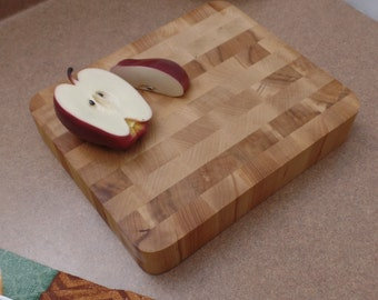 Cutting Board Thick Maple True Butcher Block Cutting Board  A great board at a great price