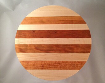 Cutting Board Perfect for travel or small places 9 inch Travel/College Dorm Round  (201512)
