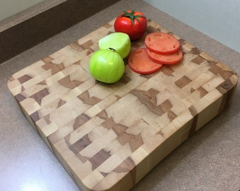 2 inch thick Cutting Board, Maple,  True Butcher Block Cutting Board, large, long lasting