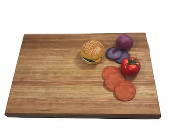 "Extra large work surface, beautiful  cherry butcher block 23"" X 15"""