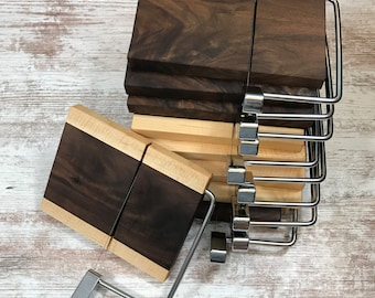 Wire cheese cutters, Mixed hardwoods Many to choose from, Great gift