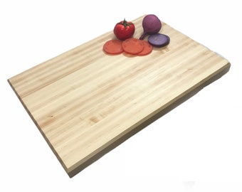 """Extra large work surface, beautiful maple butcher block 24"""" X 16"""""""