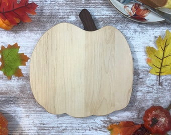 Pumpkin Cutting Board,  Great way to add a little fall to your kitchen