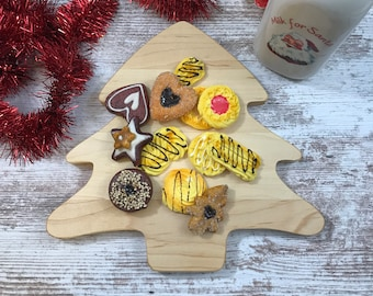 Christmas tree Cutting board and Serving tray make a great  gift and a perfect decoration
