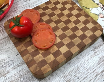 Maple and Cherry true butcher block Double sided