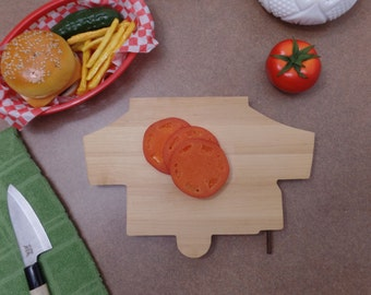 Cutting Board Pop Up camper. Perfect for your RV !!! Hand made and made to be used,A great gift with boxing available