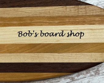 Personalizable Surf's up !! Surfboard multi-use board