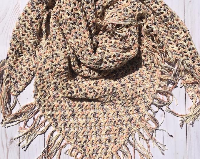Sweet Summertime Shawl Crochet Pattern