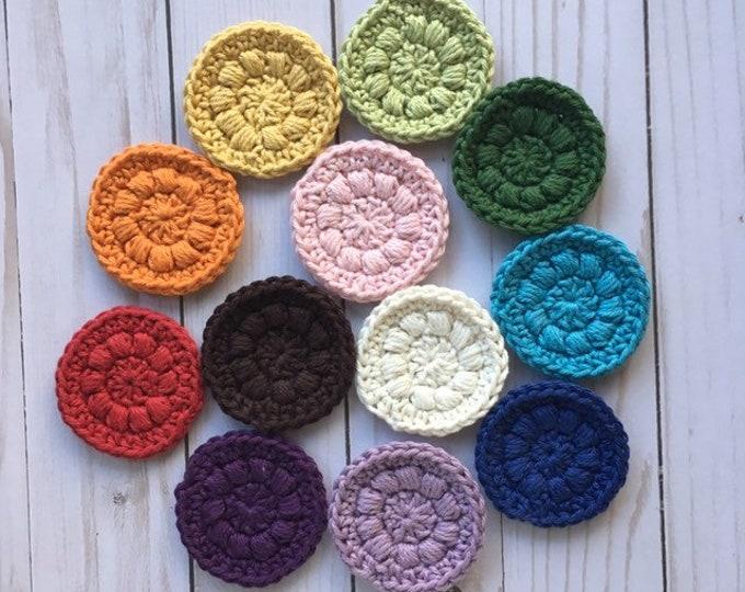 Face Scrubber Sets - 100 % cotton, Crochet