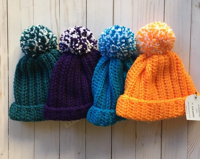 CLEARANCE -Baby Beanie - 6-12 month - baby hat