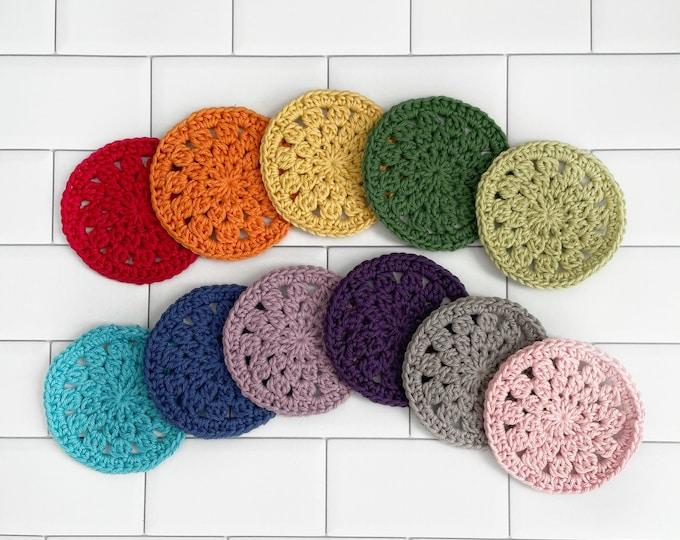 Coaster Set - 100% Cotton - Crochet - Coasters