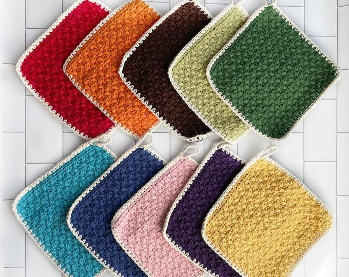 Potholder Set -Hot pads - 100% Cotton