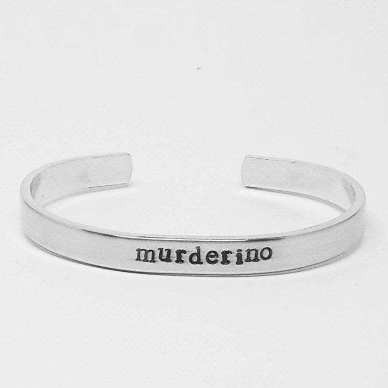 Murderino: My Favorite Murder podcast inspired hand stamped image 0