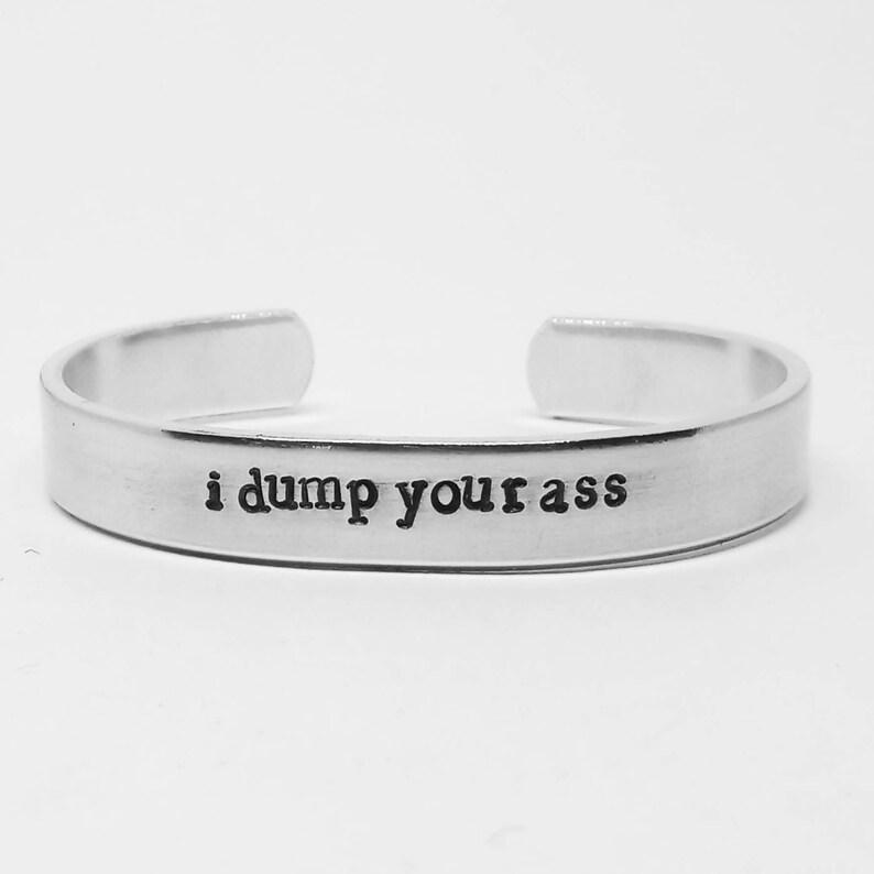 I dump your ass: Stranger  Things Season 3 inspired unisex image 0